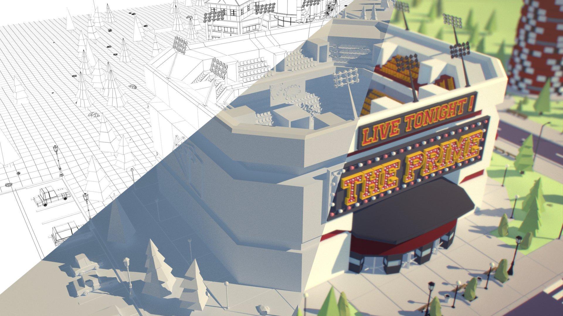 3D Modeling Maya photo