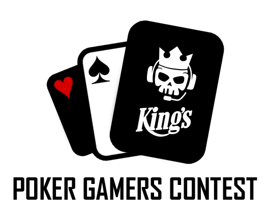 Logo Kings Poker Gamers Contest Black